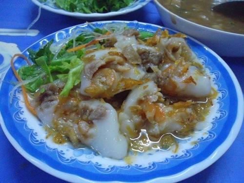 Món bánh ích Thanh Hóa