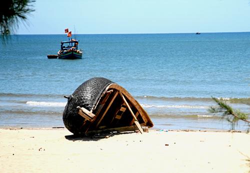 Biển Hải Thanh hoang sơ và thoáng đãng