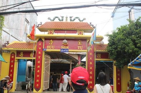 Ngôi chùa ở Việt Nam có nến