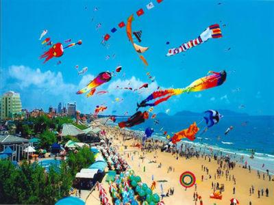 Những cánh diều ở bãi biển Vũng Tàu