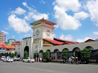 Du lịch Xuyên Việt - Chợ Bến Thành