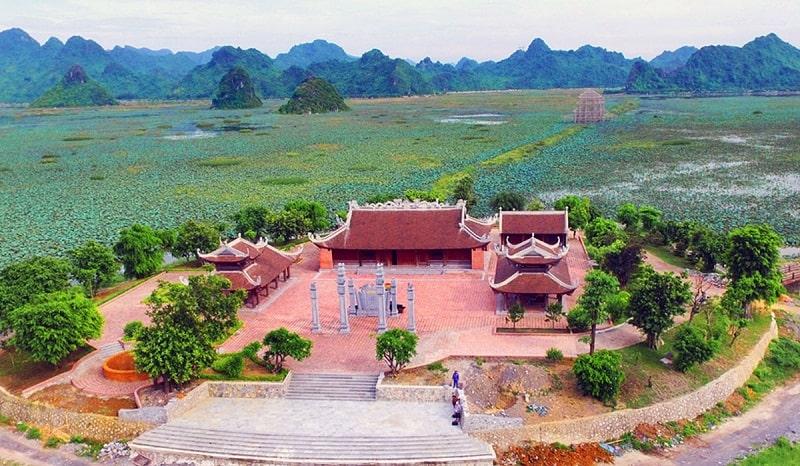Phong cảnh thiên nhiên xinh đẹp ở Hà Nam