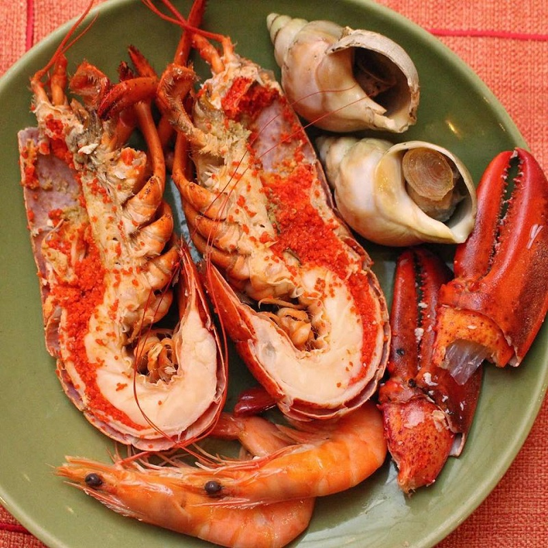 Tuyệt đối không ăn hải sản kèm với phô mát
