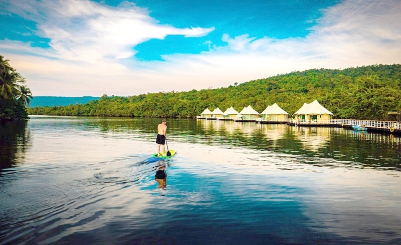 Khách sạn trên sông trải nghiệm thú vị cho chuyến du lịch