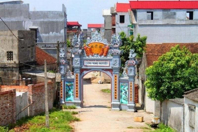Nét cổ kính ở làng Vọng Nguyệt – Bắc Ninh