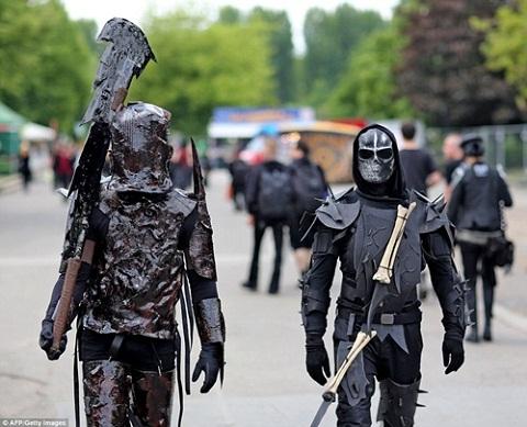 Lễ hội hóa trang ở Đức