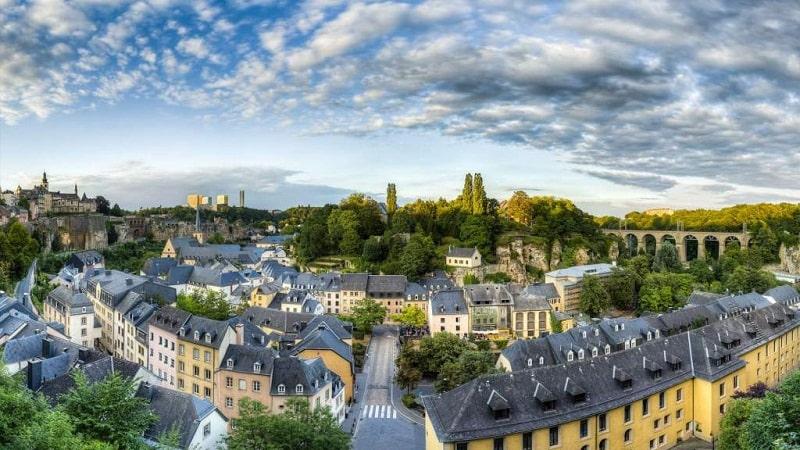Tuy diện tích nhỏ nhưng cảnh quan ở Luxembourg khiến nhiều người trầm trồ