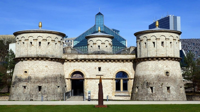 Bảo tàng MNHA nơi lưu giữ nhiều vật có giá trị của Luxembourg