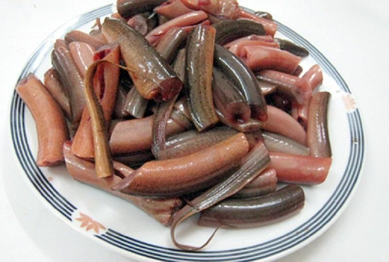 Thịt lươn đã làm sạch