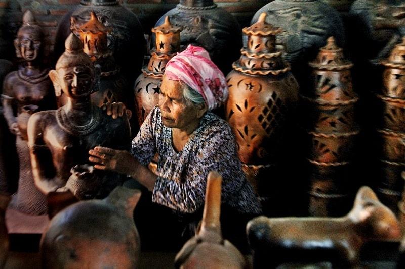 Làng gốm Bàu Trúc nét đẹp của làng Việt cổ