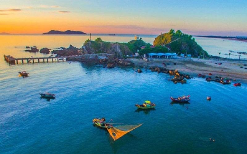 Đảo Lan Châu được mệnh danh là hòn đảo ngọc xinh đẹp