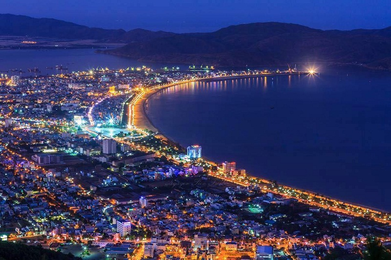 Cảnh đêm tuyệt đep ở Quy Nhơn