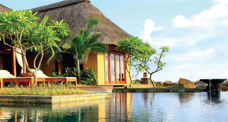 Resort ở bãi Kỳ Co rất thích hợp cho tuần trăng mật