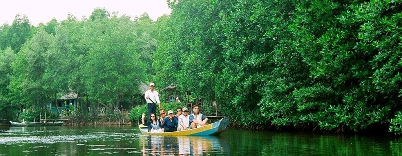 Du lịch ở rừng ngập mặn được phát triển