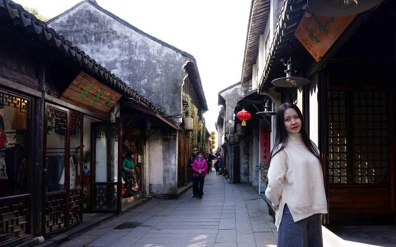 Châu Trang cổ trấn khá là nổi tiếng