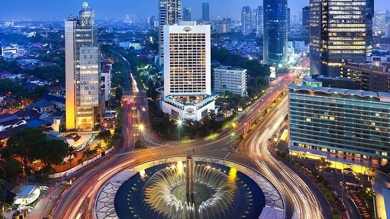 Thành phố Jakarta lung linh rực rỡ