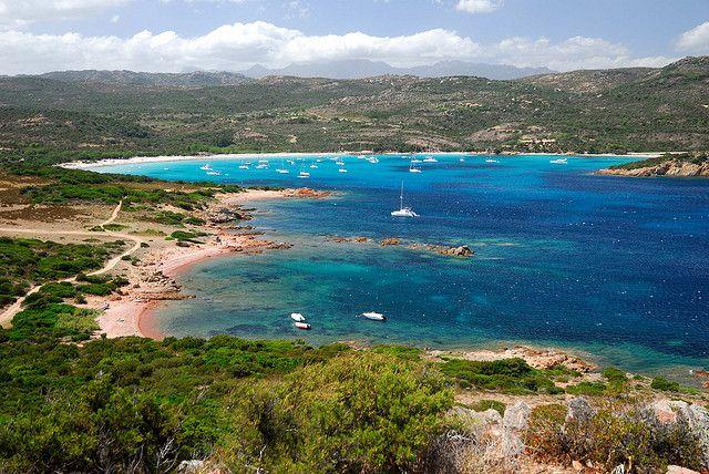Toàn cảnh đảo Corse- Pháp
