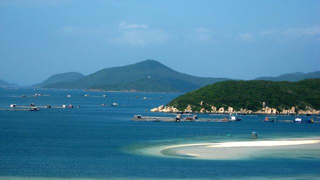 Vẻ đẹp vịnh Vân Phong