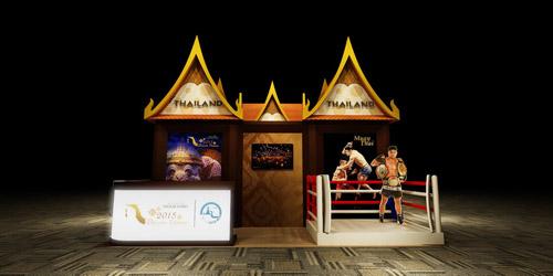 Thái Lan tái hiện huyền thoai Muay tại Hà Nội