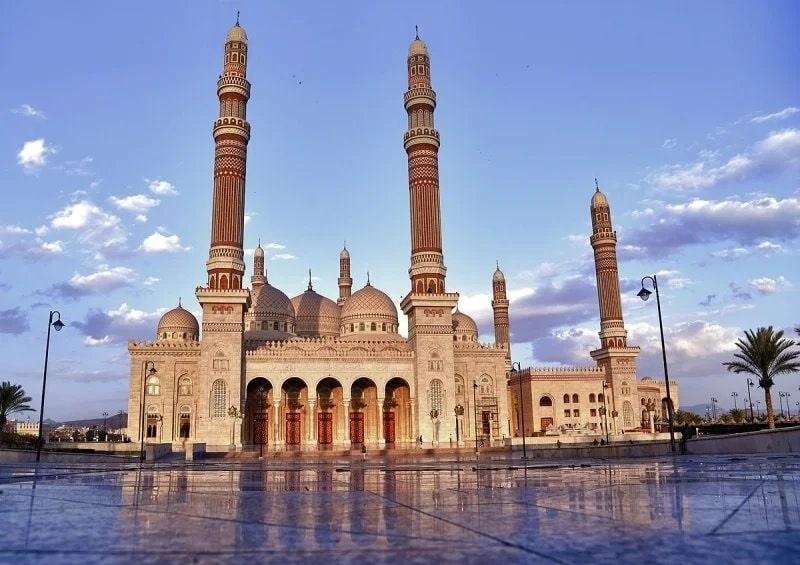 Ali Abdullah Saleh là nhà thờ lớn và hiện đại nhất ở thành phố Sanaa
