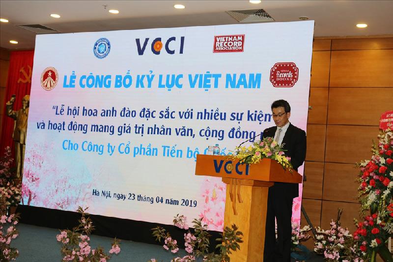 Lễ hội hoa anh đào Nhật Bản - Hà Nội 2019 xác lập kỷ lục Việt Nam