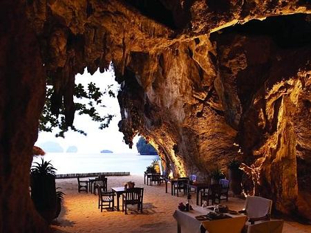 Khách sạn Rayavadee, Thái Lan
