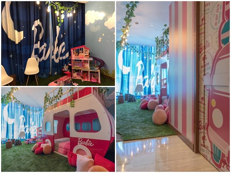 Phòng của trẻ em được trang trí nhí nhảnh