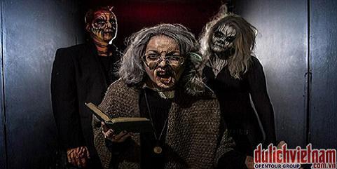 """Những con """"quỷ ăn thịt người"""" ở khách sạn ma Thorpe Sharrk Anh"""