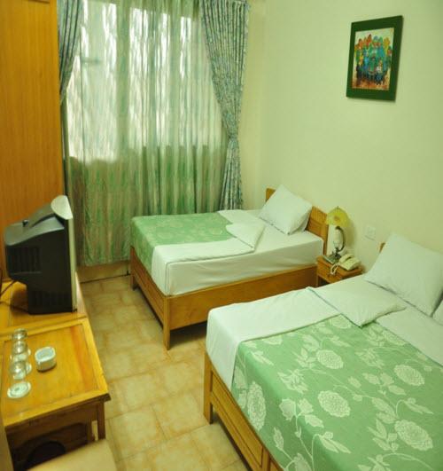 Phòng ngủ khách sạn Xanh Cửa Lò
