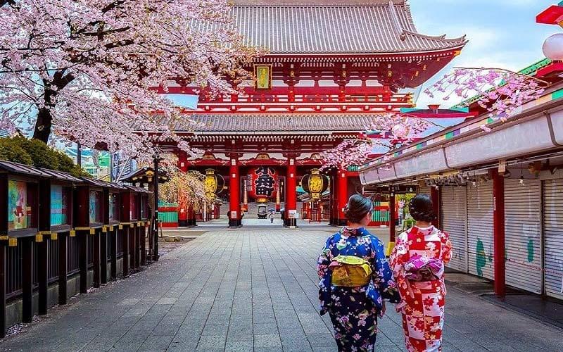 khách du lịch Hàn Quốc
