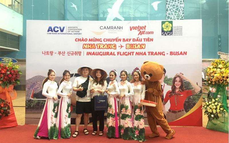 Vietjet khai trương đường bay thẳng duy nhất giữa Nha Trang và Busan