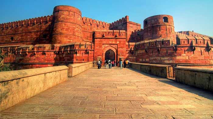pháo đài sa thạch đỏ Agra