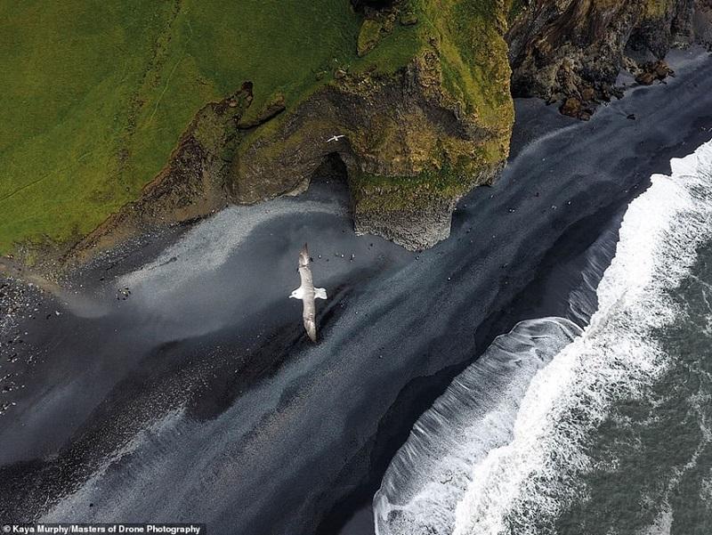 Khung cảnh thiên nhiên kỳ vĩ, tươi đẹp nhìn từ trên cao