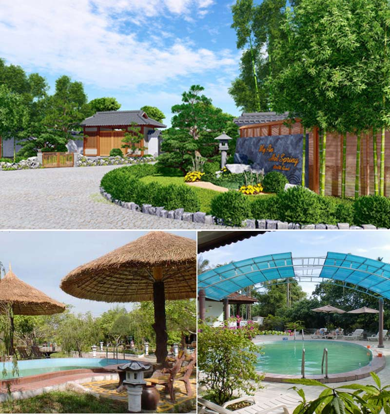 khu nghỉ dưỡng suối khoáng nóng Huế