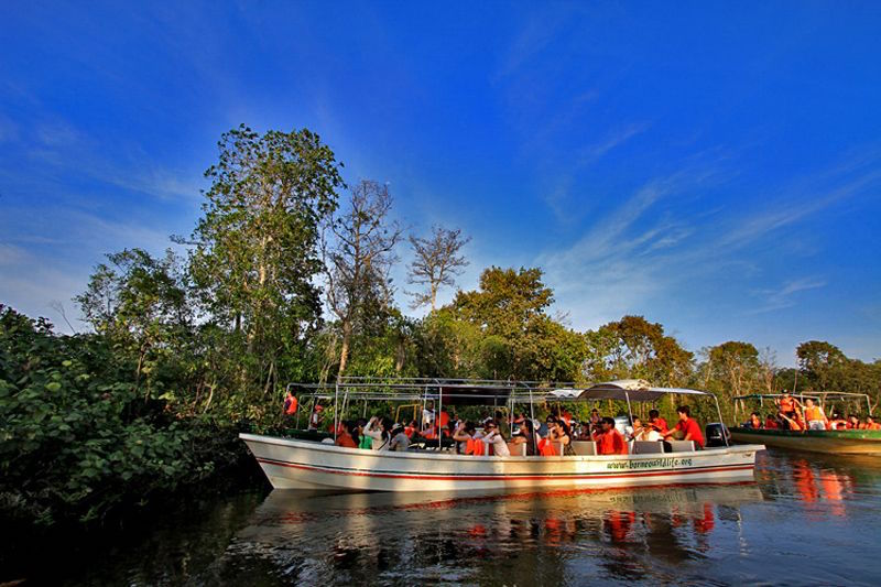 Du thuyền sông Klias