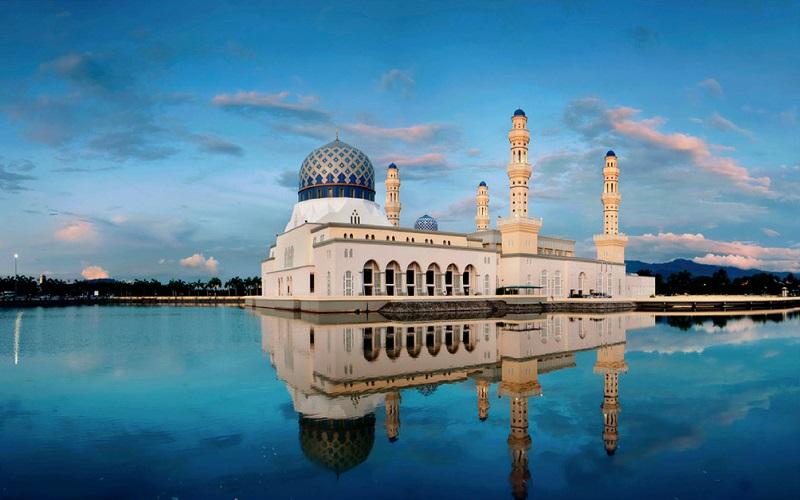 Nhà thờ Hồi giáo Sabah tuyệt đẹp
