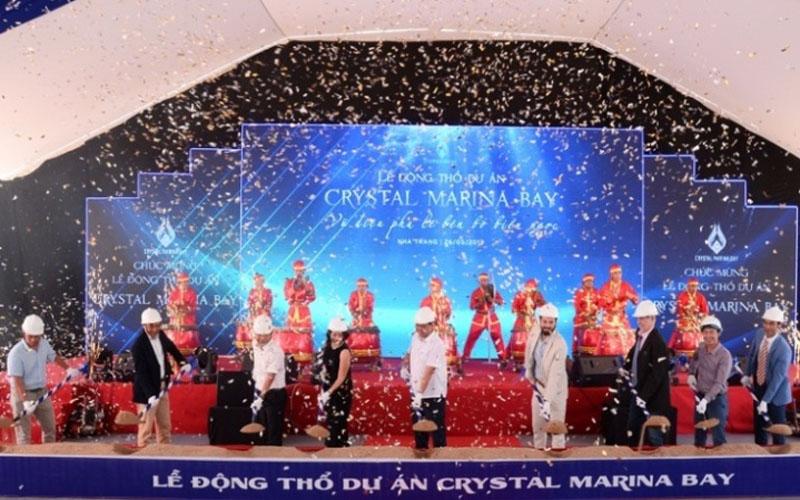 Động thổ tổ hợp giải trí, nghỉ dưỡng biển quốc tế Crystal Marina Bay