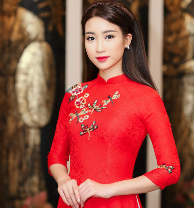 Hoa hậu Mỹ Linh đại sứ hình ảnh Lễ hội áo dài TP.HCM 2018