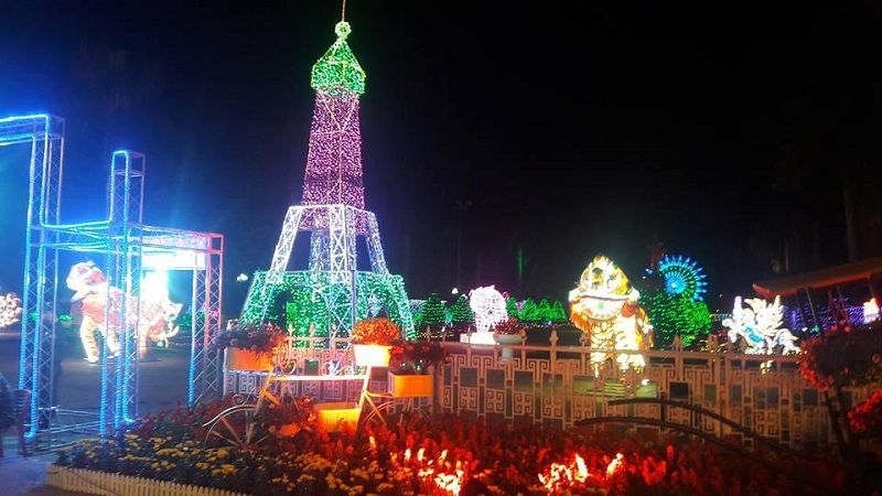 lễ hội ánh sáng phố Thanh Khê Tây