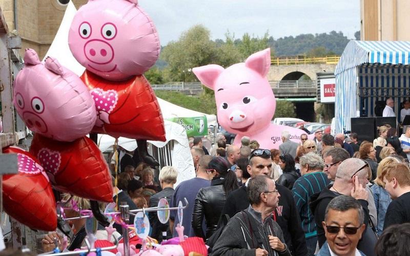 lễ hội heo tại Pháp