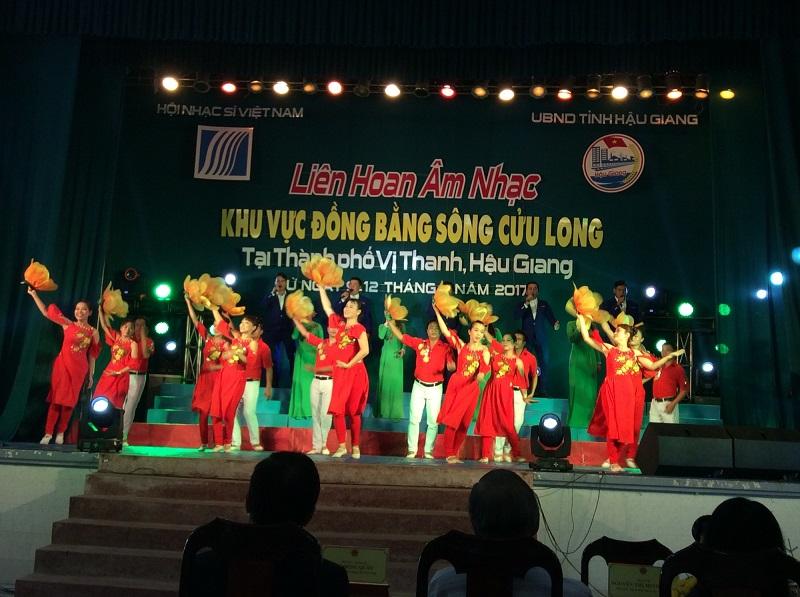 Liên hoan âm nhạc ĐBSCL năm 2017 (tư liệu - Hội Nhạc sỹ Việt Nam)