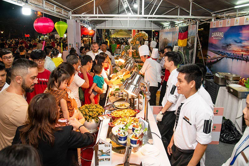 liên hoan ẩm thực quốc tế Đà Nẵng