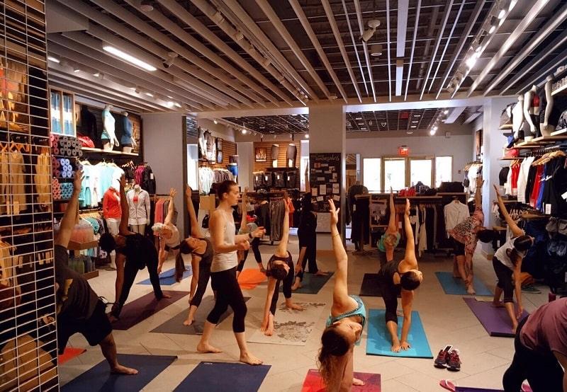 Yoga trong thành phố