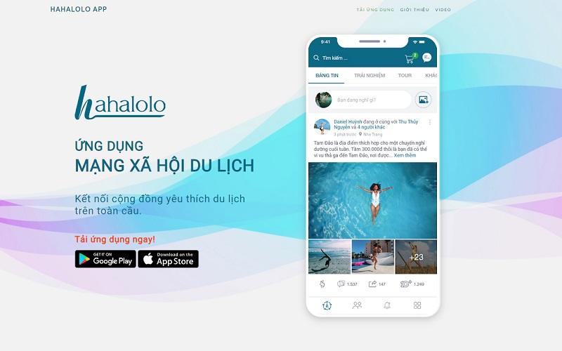 Hahalolo, kết nối người dùng với NCC dịch vụ OTA, TMĐT