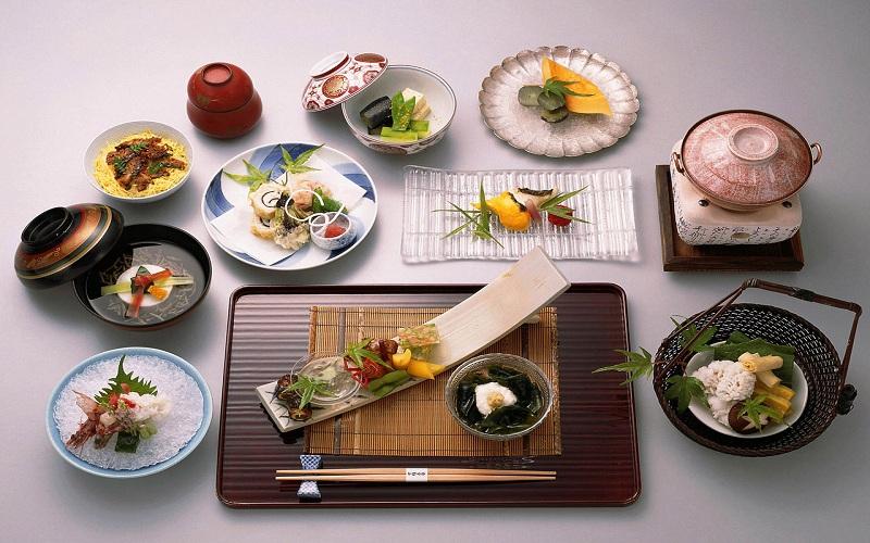 Ẩm thực truyền thống Nhật Bản theo phong cách Kaiseki Ryouri