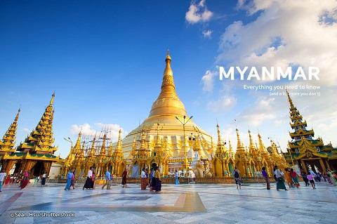 myanmar- thánh địa phật giáo châu Á