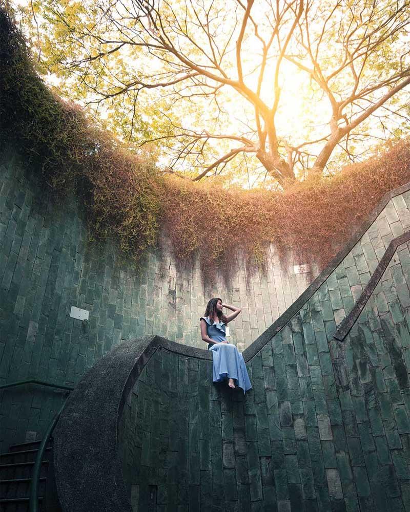 Nấc thang sống ảo ở Singapore - tâm điển check-in của giới trẻ