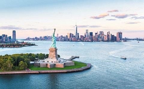 New York - đứng thứ 10 trong bảng xếp hạng