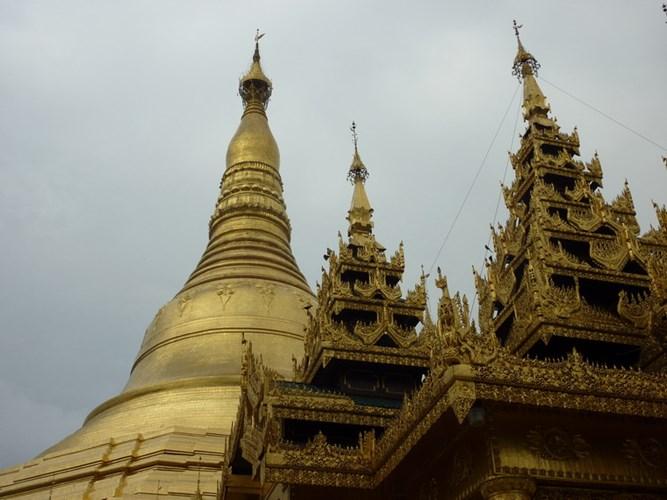 Chùa Vàng Shwedagon ở Yangoon -09
