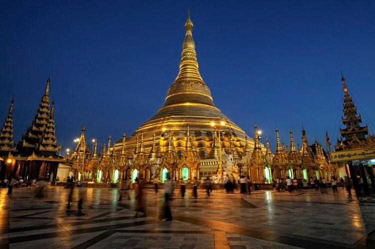 Chùa Vàng Shwedagon ở Yangoon -10